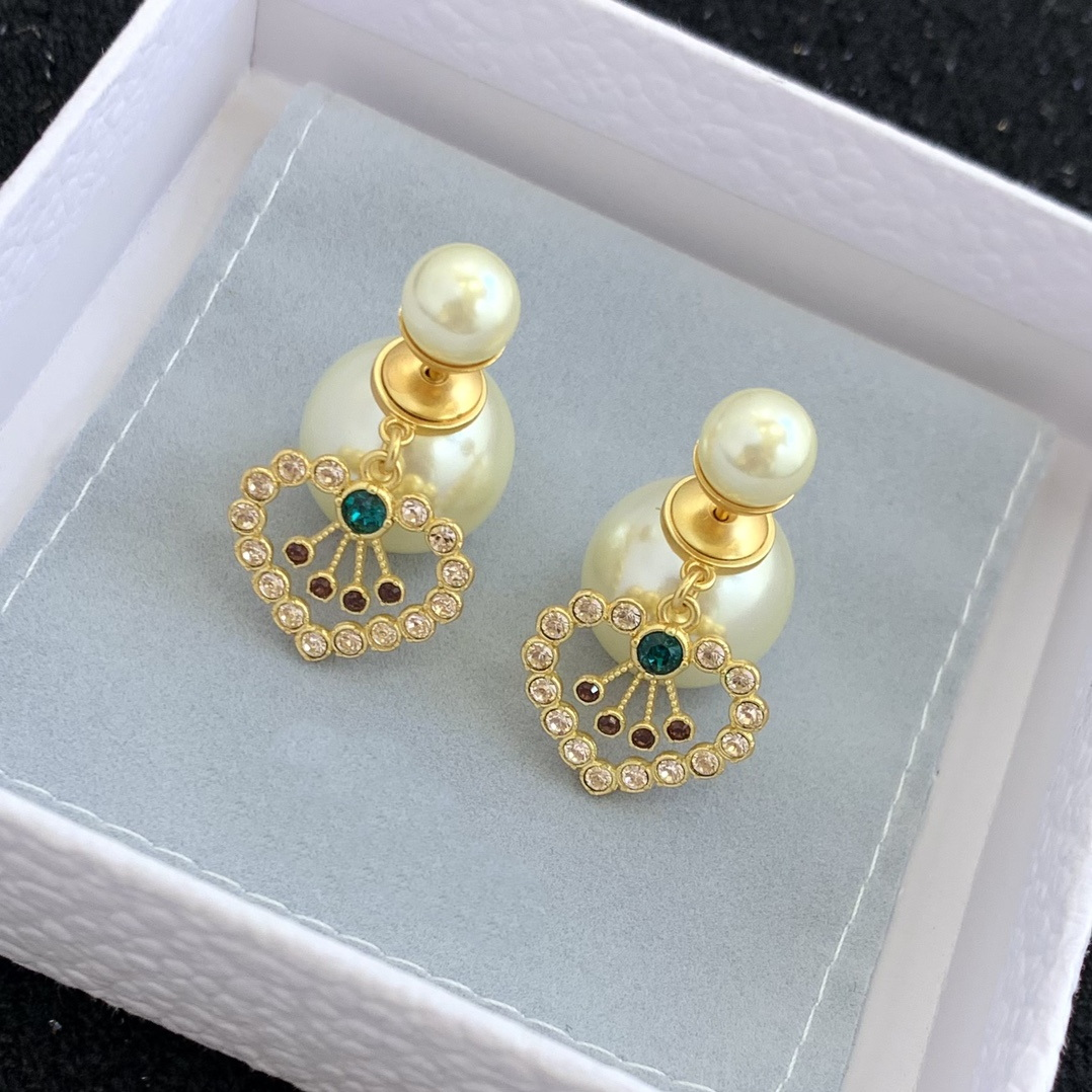 designer earrings luxury ladies studs 18k gold jewelry plated 925 silver needle TOP high quality AAAAA classic style birthday present official reproductions stud