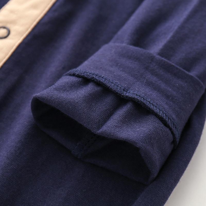 INS hot Baby Brand Clothes Baby Plaid bow Romper New Cotton Newborn Baby Girls Boy Spring Autumn Romper Kids Designer Infant Jumpsuits