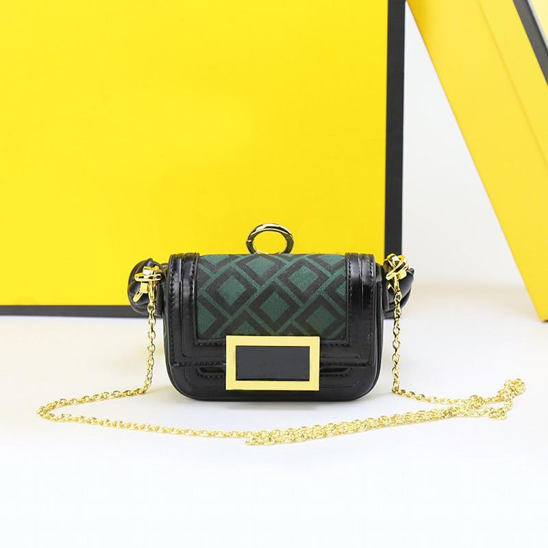 Genuine leather woven Big handle women bag Handbags luxury designer Letter printing messenger chain shoulder bags Lady fashion Mini Tote purse wallet