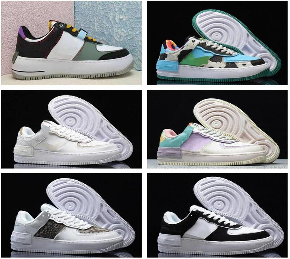 2021 Brand Discount Men Women Flyline Running Shoes Sports Skateboarding Ones Shoe High Low Cut White Black Outdoor The New Sneakers 36-45