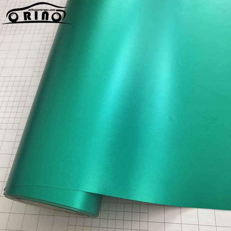 Tiffany Blue Metallic Vinyl Film Wrap-3