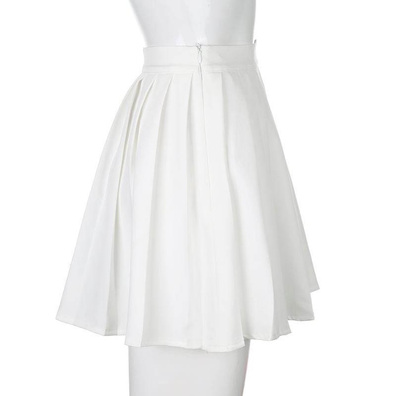 White Embroidery Skirt (5)