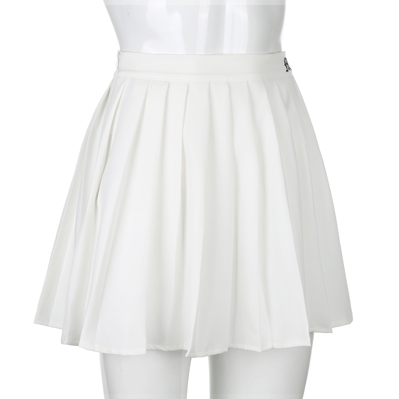 White Embroidery Skirt (4)