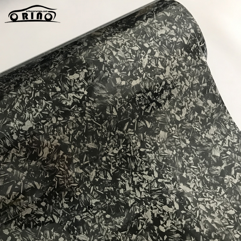Gloss Silver Titanium Steel Vinyl Wrap Sticker-4