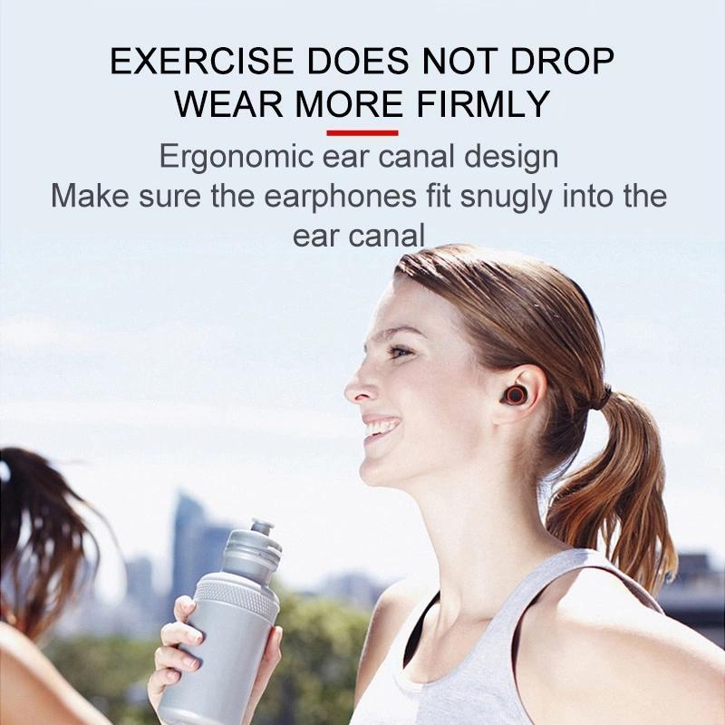 A2 TWS Bluetooth Sport Earphone Stereo wireles Bluetooth 5.0 Mini Earphones Headset headphones