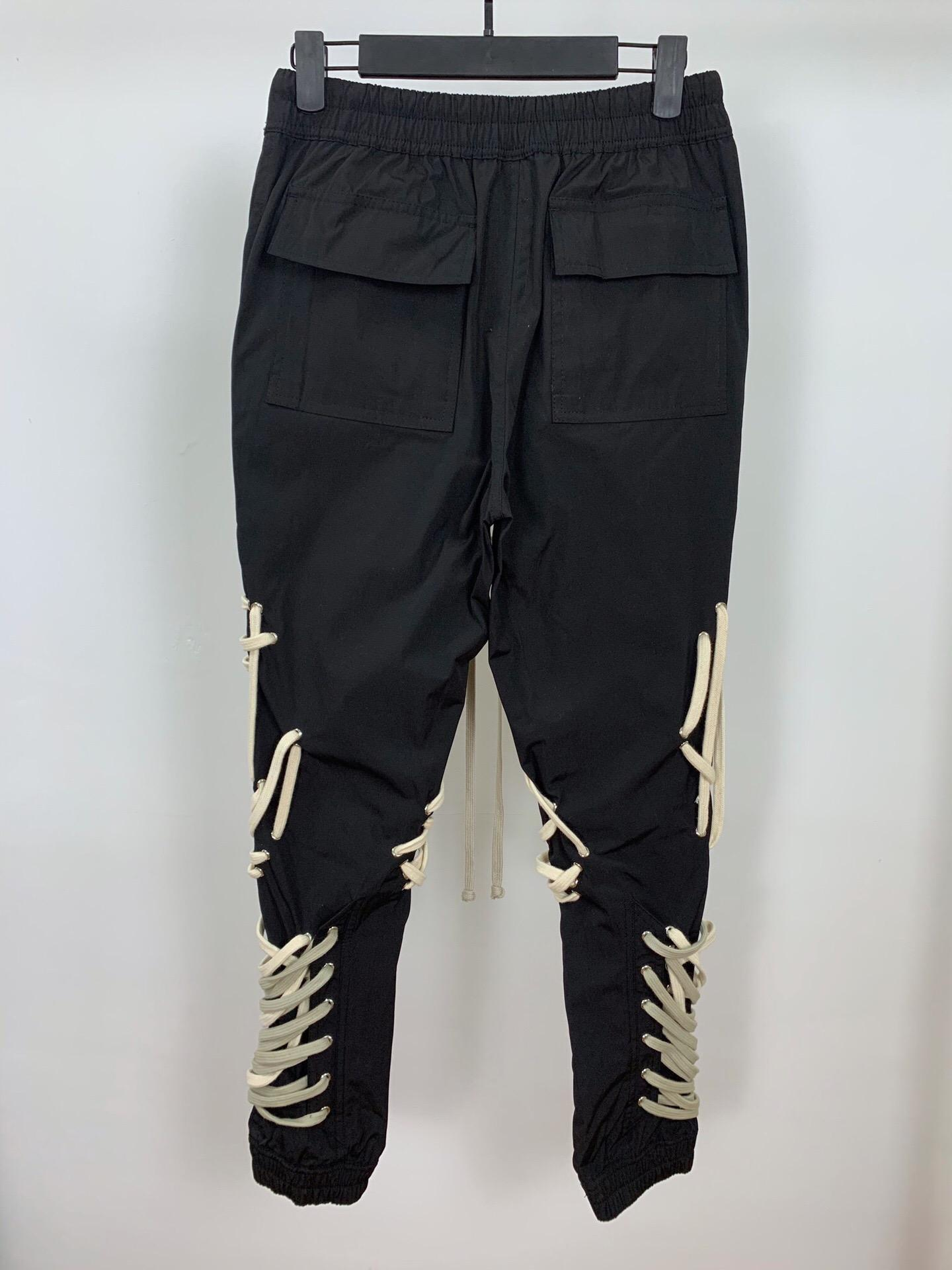 2020 fall Spring New Fashion Trousers Male Pure hand cotton rope loom car trousers Elastic Trousers Male Man jeans