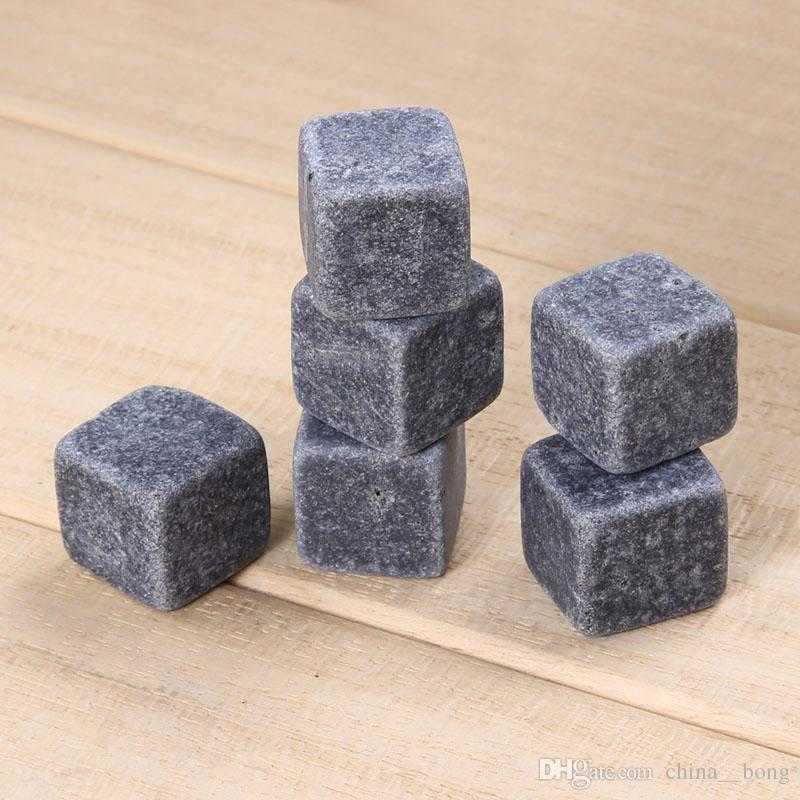 Natural Whiskey Stones Sipping Ice Cube Whisky Stone Rock Cooler Christmas Bar Accessories newest WHISKY ICE CLUB DHL Fedex free