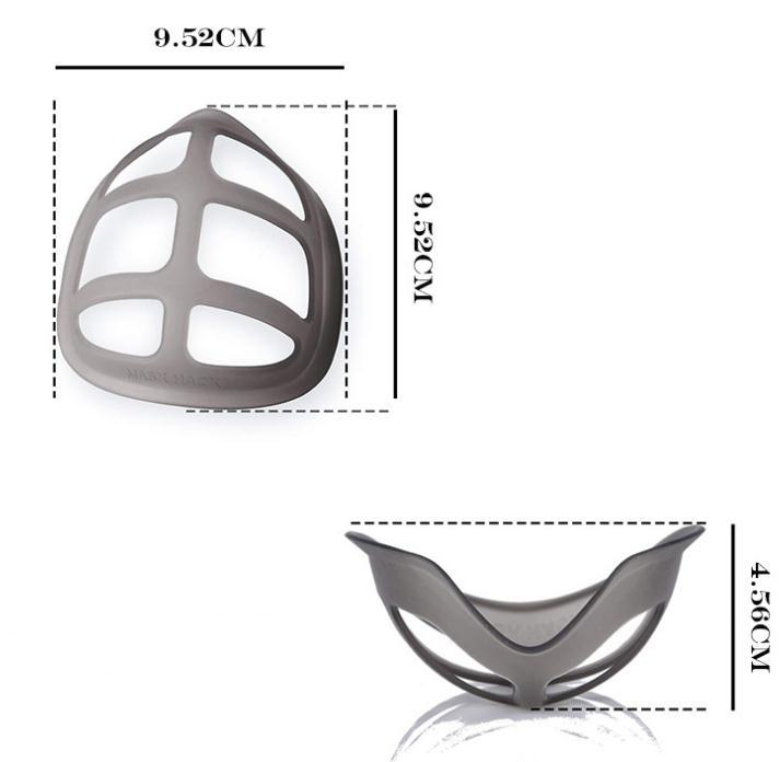 6 Styles 3D Mask Bracket Lipstick Protection PP Stand Mask Inner Support For Enhancing Breathing Smoothly Masks Tool Accessory SN2005