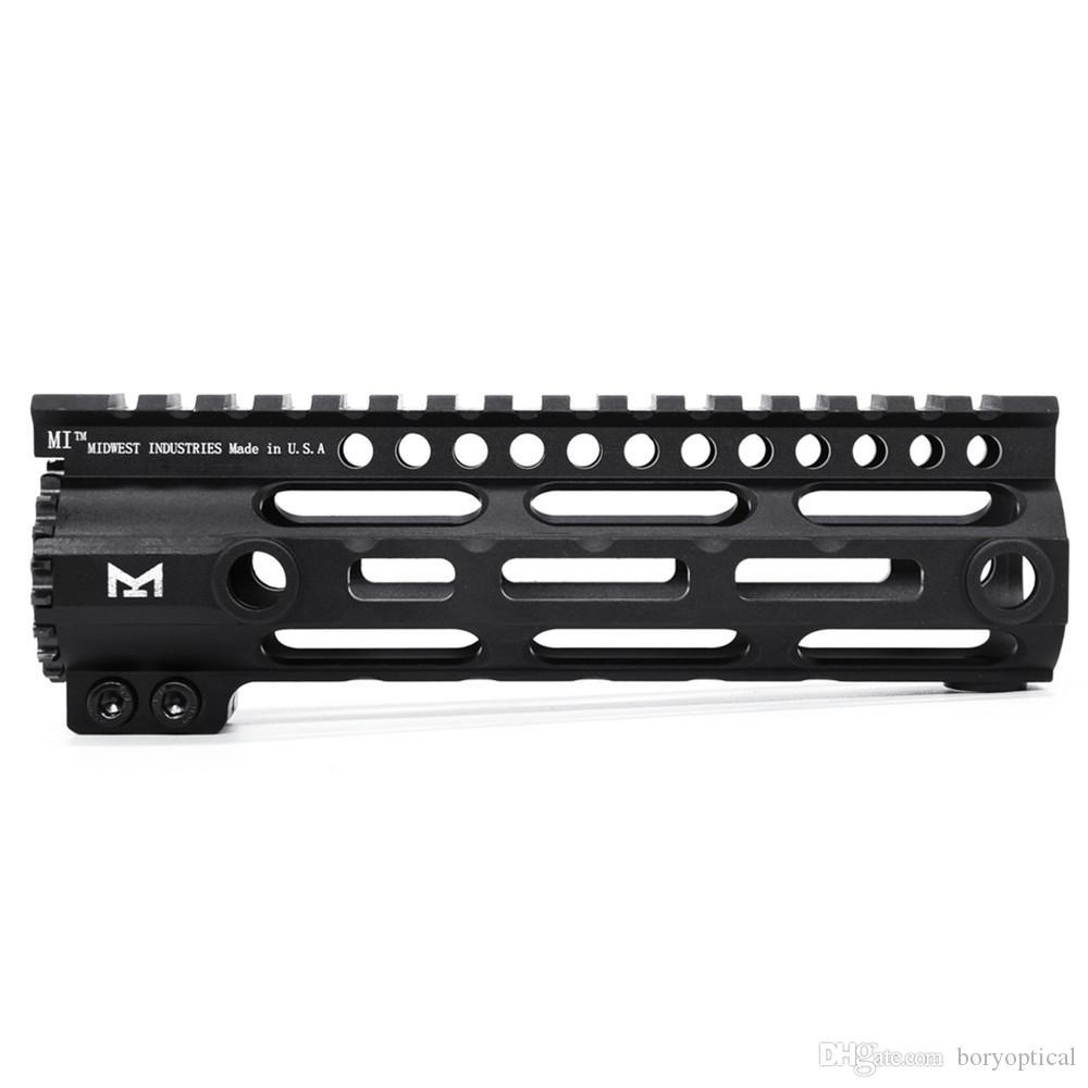 New AR-15 MLOK M-LOK 7 9 12 15 inch Slim Free Float Handguard Picatinny Rail Mount Bracket