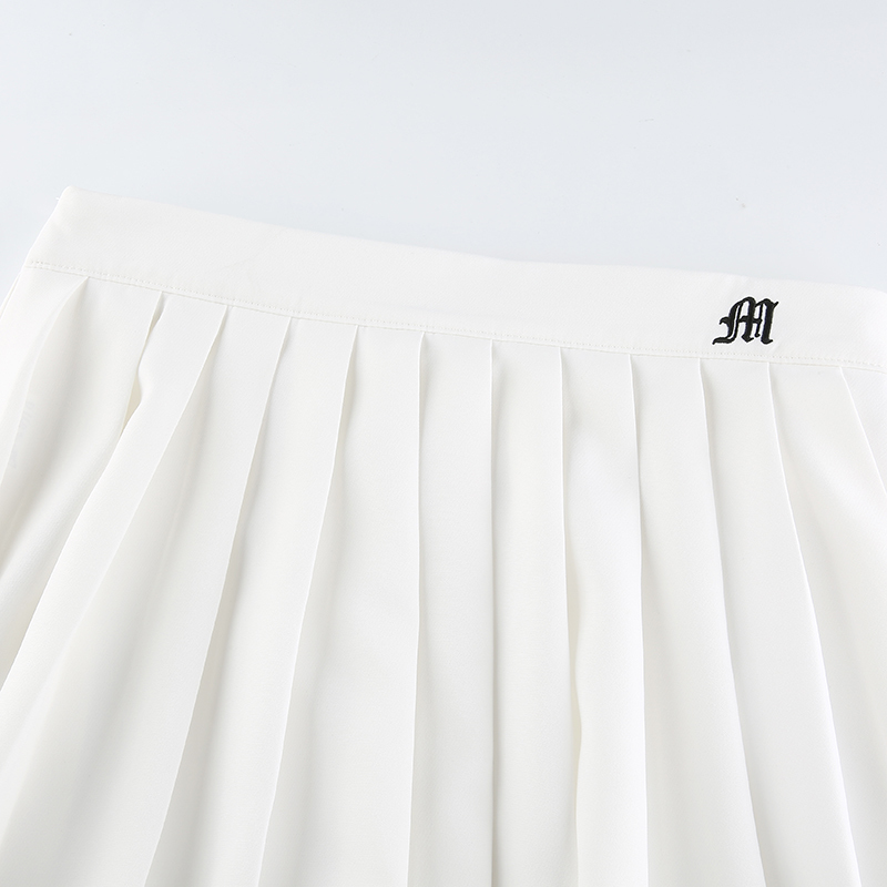 White Embroidery Skirt (22)