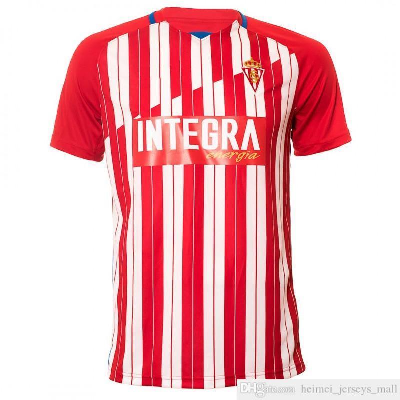 20 21 SPORTING GIJÓN Soccer Jersey ALVARO DJUKA CARMONA Aitor G. JS BABIN PEREZ M.VALIENTE COFIE GIJON Football Shirts camiseta de fútbol