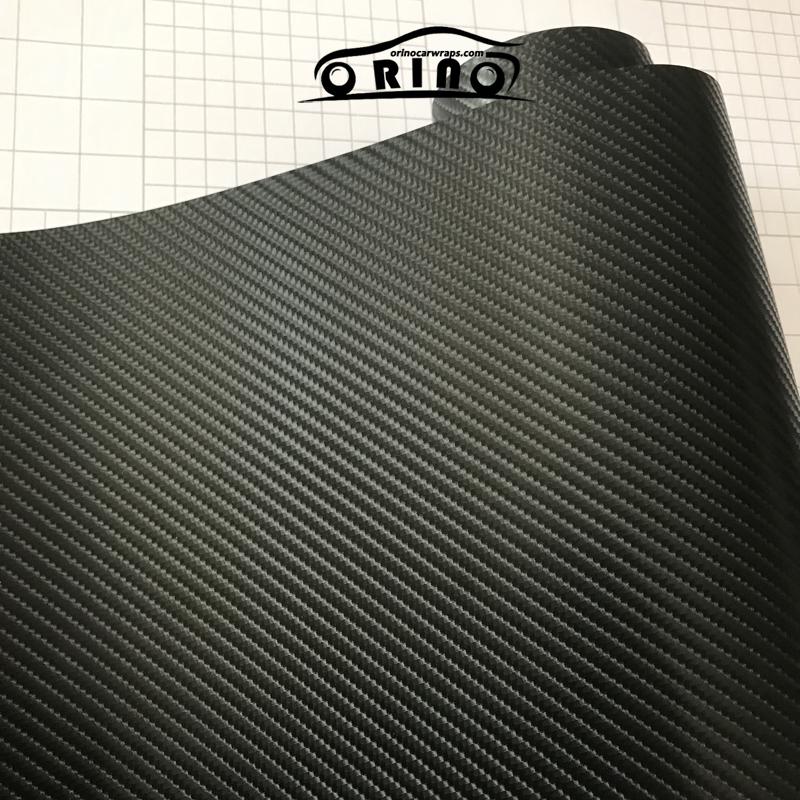 4D Black Carbon Fiber Vinyl Film-2