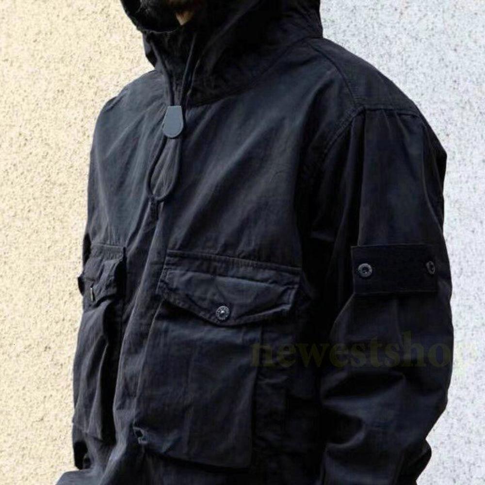 20ss hotselling PIECE SMOCK/ANORAK COTTON NYLON TELA Pullover Jacket Men Women Coats Fashion designer Outerwear coat