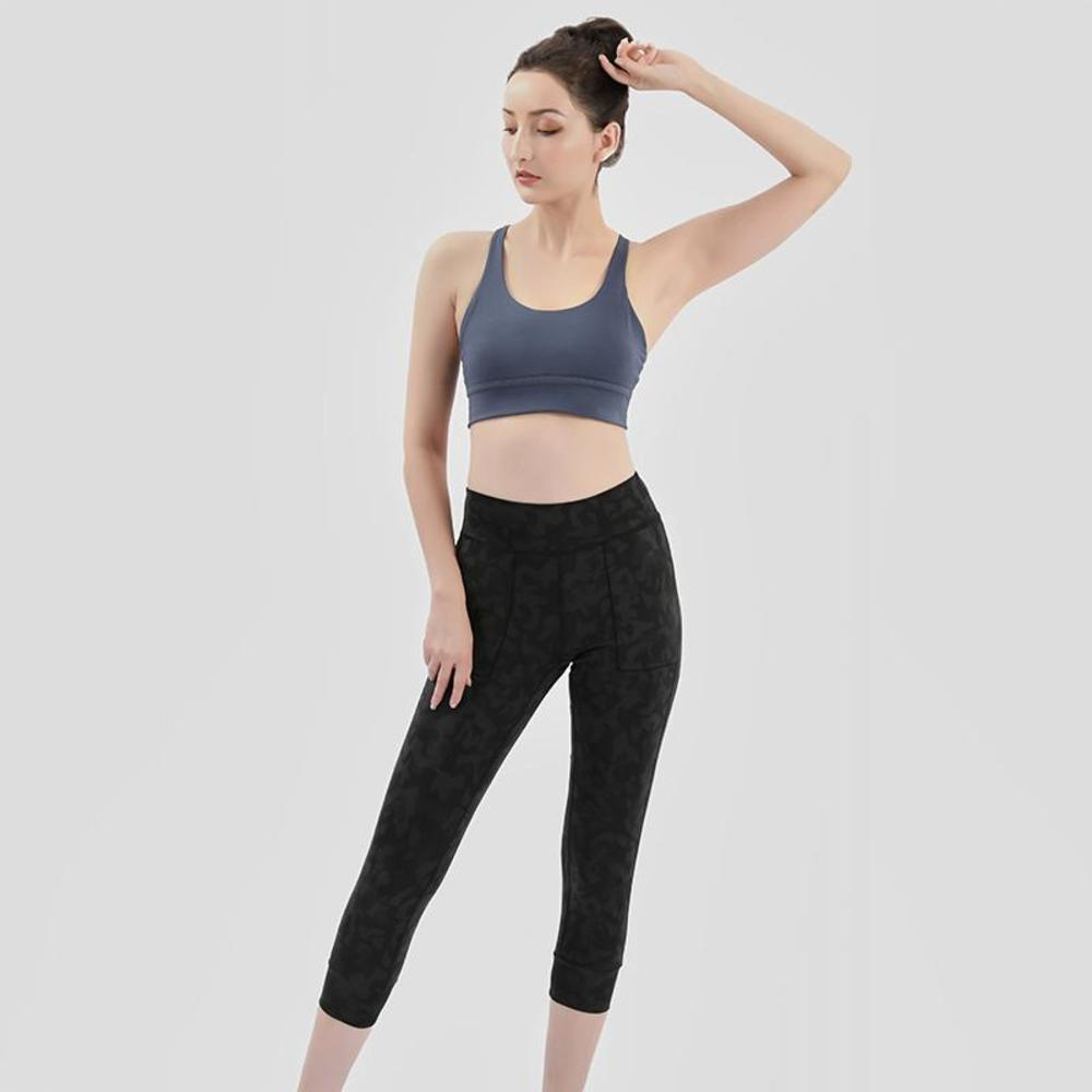Yoga Bra Women Padded Sports Bra Shake Proof Running Workout Gym Top Tank Fitness Shirt Vest