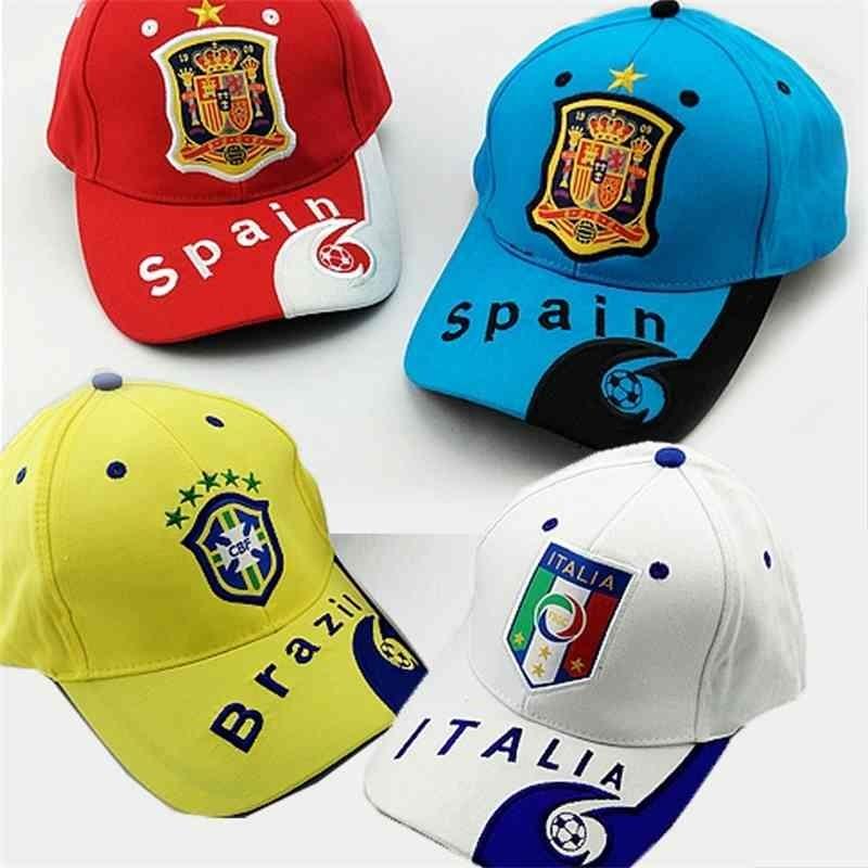 2020 cup souvenir Holland Portugal France Brazil national team sun duck tongue hat