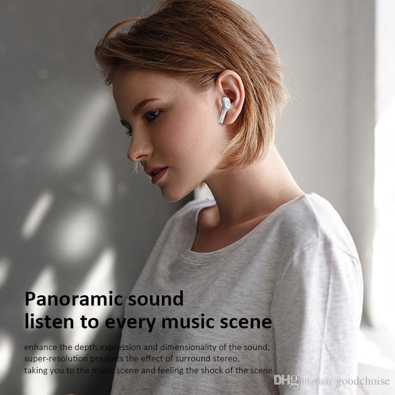 T9S TWS Earbuds Wireless Headphones Bluetooth 5.0 Stereo Sound Earphones In-ear Hands-free Sports Headset Noise Reduction