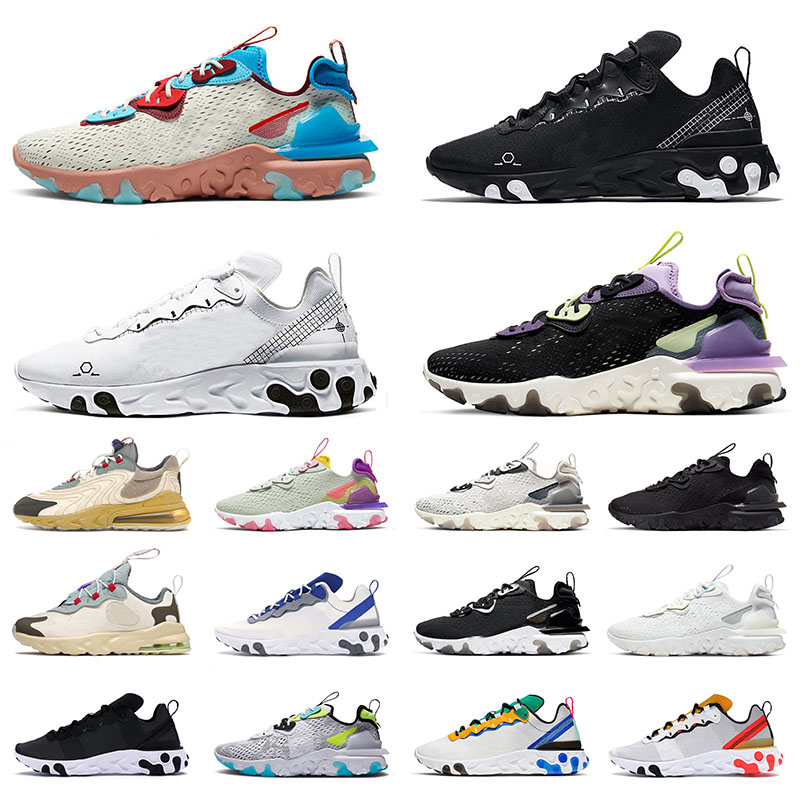 Sports Sneakers Epic Vision Element 55 87 Running Shoes for Men Women Schematic Triple White Black Vast Grey Photon Dust Cactus Jack Sail Trainers Size 36-45