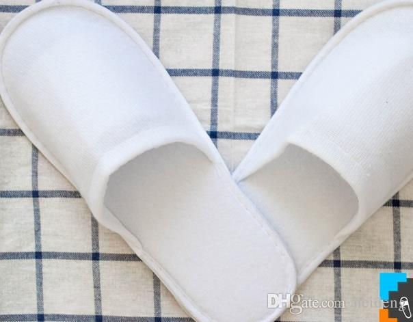 Hot sale New Cheap sell wholesale Disposable Slippers White Hotel Babouche Travel Beach Guesthouse