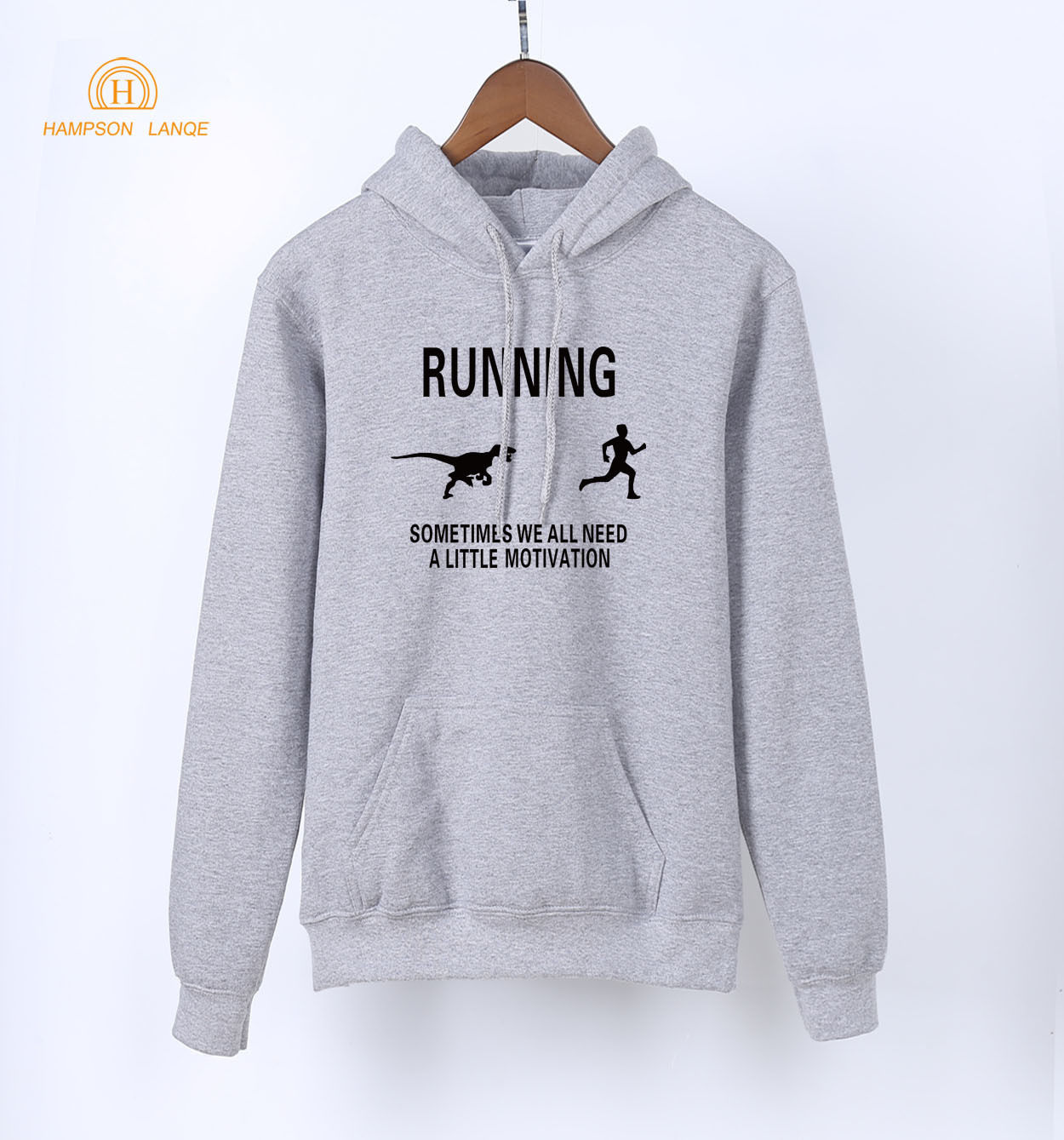 Sometimes We All Need A Little Motivation Letters Print Casual Tracksuit 2019 Spring Sweatshirt Hoodie Women Long Sleeve Hooded