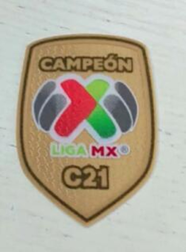 C21 Football Patch Mexico patch Mexican League Soccer Patch Badges Mexico Champion Football Shirt Patches armband C20