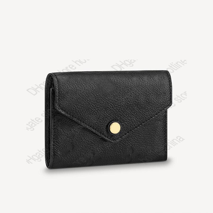 Women Wallet High Quality purse clutch fashion Date Code Original box purse woman lady Soft grain embossed leather