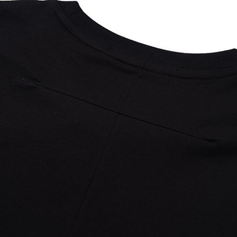 Mens Stylist T Shirts Black Mens Fashion Stylist T Shirts Hip Hop Summer High Quality Short Sleeve S-XXL