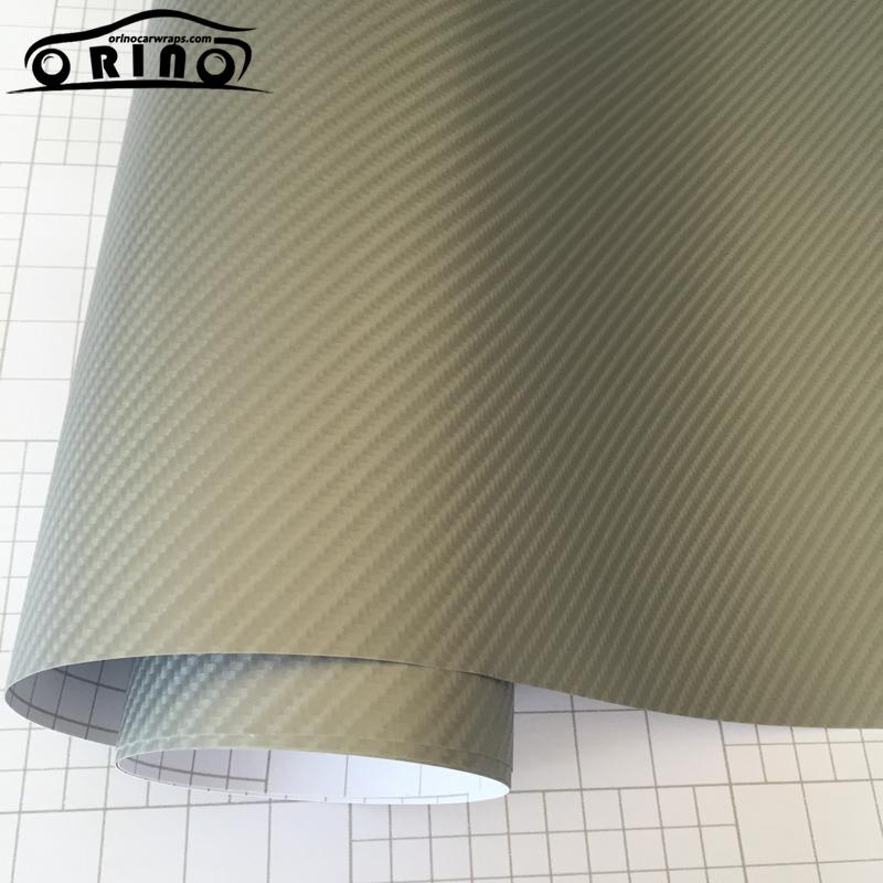 Silver 4D Carbon Fiber Vinyl Film-4
