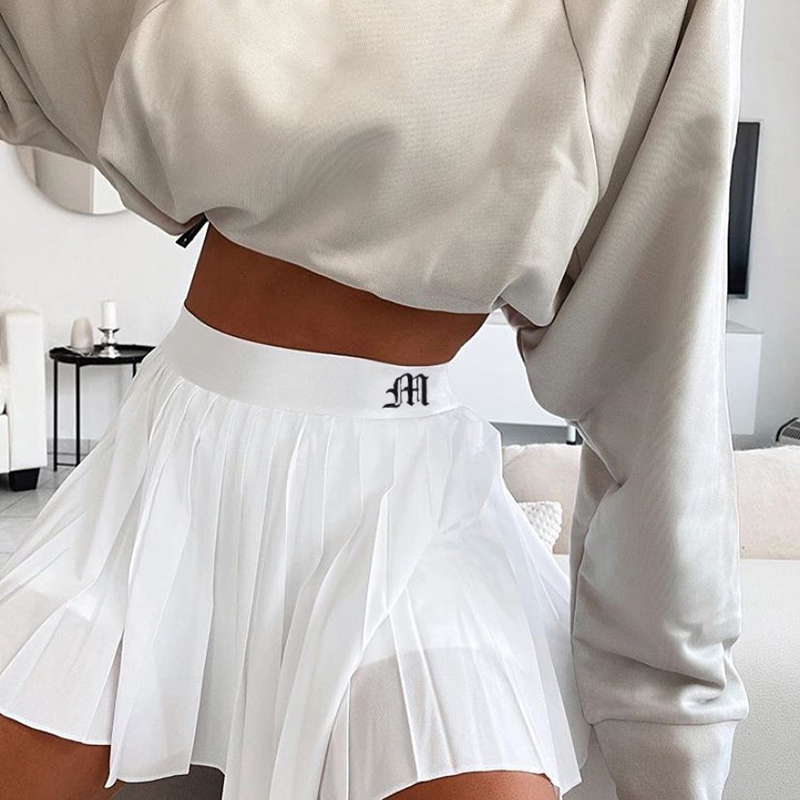White Embroidery Skirt (19)