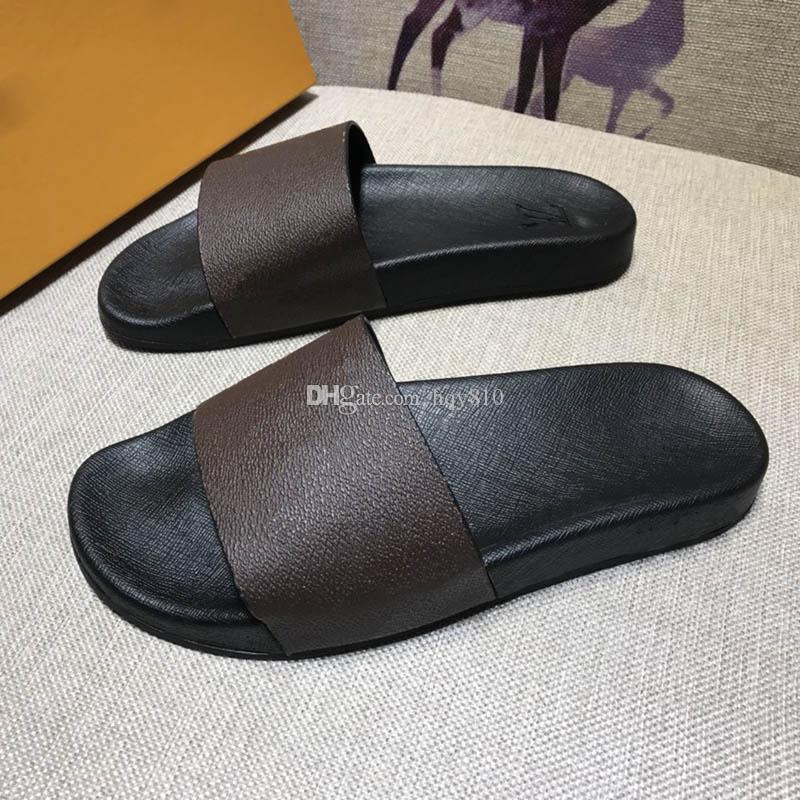 Waterfront Slippers Summer Beach Slide Fashion Luxury Designer Slide Women Size 35-42 Men Size 38-45 Model HY02111