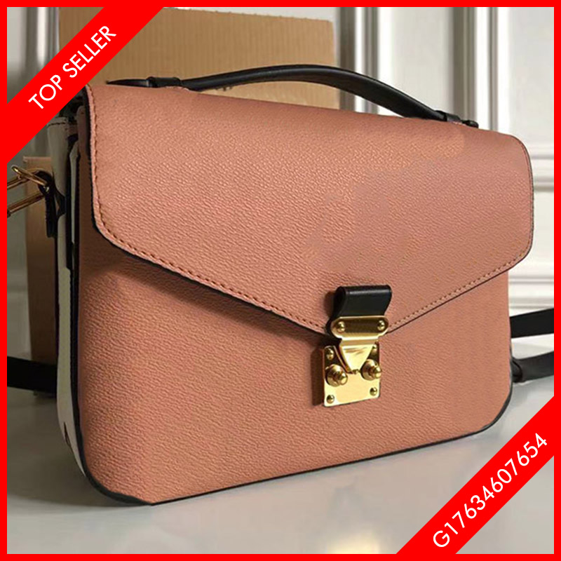 5A Top quality women's bags Leather fashion retro trend handbag Crossbody Bag with box