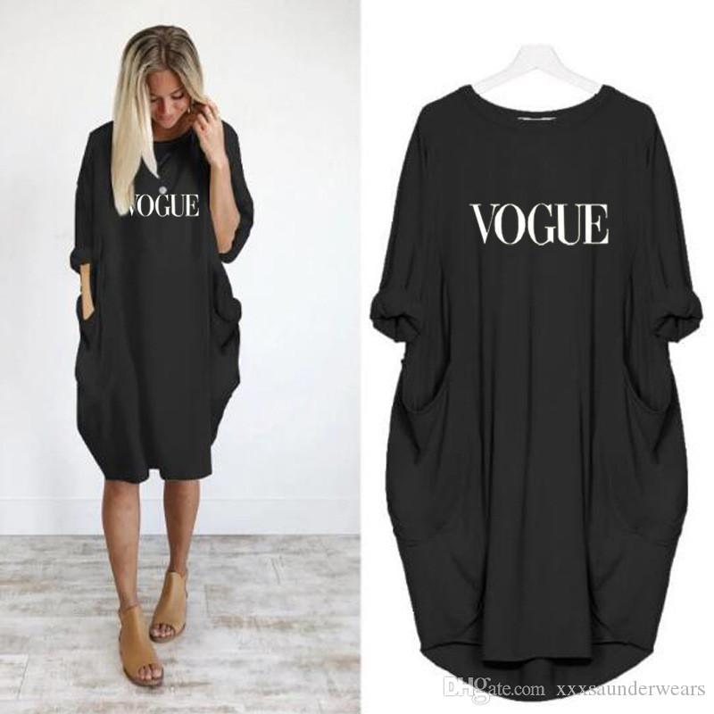 Women Plus Size Casual Dresses Summer Short Sleeve Crew Neck Letter Pattern Womens Clothing Fashion Loose Ladies Apparel Dresses