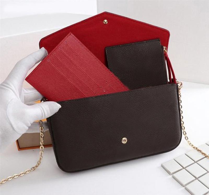 High Quality Luxurys Designers Bags Purse Woman Fashion Monogrames Multi Pochette Felicie Chain Shoulder Bag 2-2