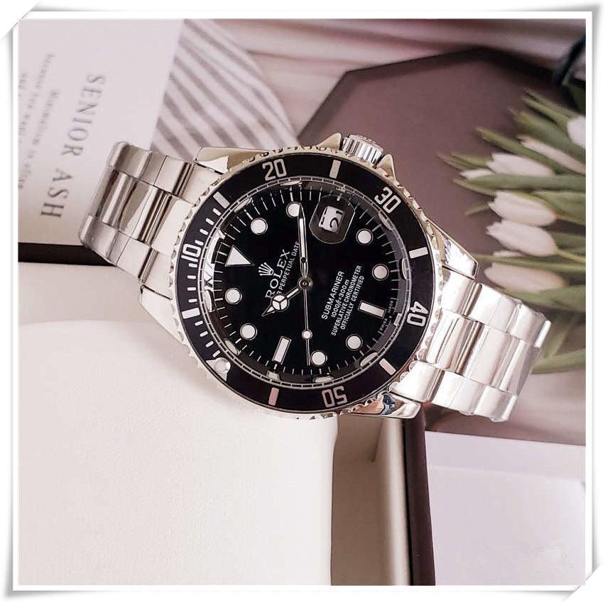 Rolexwatch 2021 Classic model man Watch Luxury silver Stainless steel Quartz wristwatches designer style popular modern watch Male clock