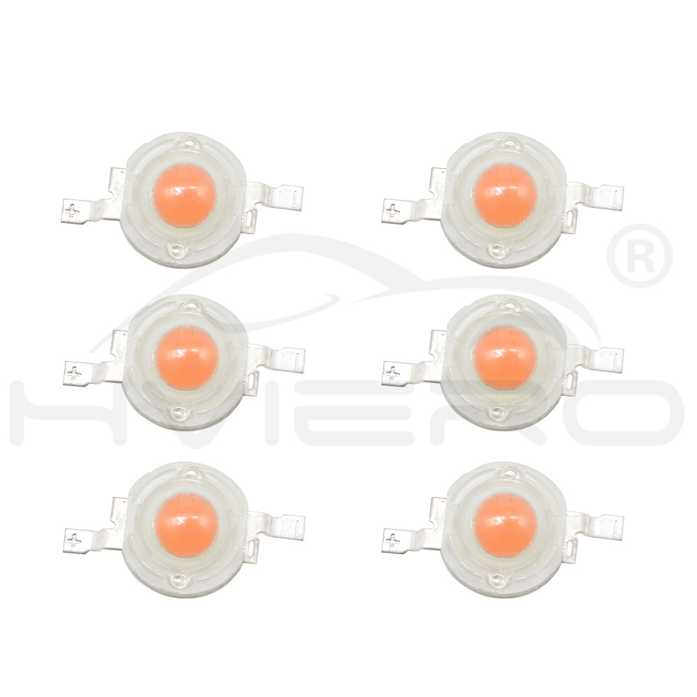 Hviero 1W High Power LED White Red Green Blue Yellow 110-120LM chip Beads 4 gold lines emitter Diode Lamp Bulb Chip For DIY Light