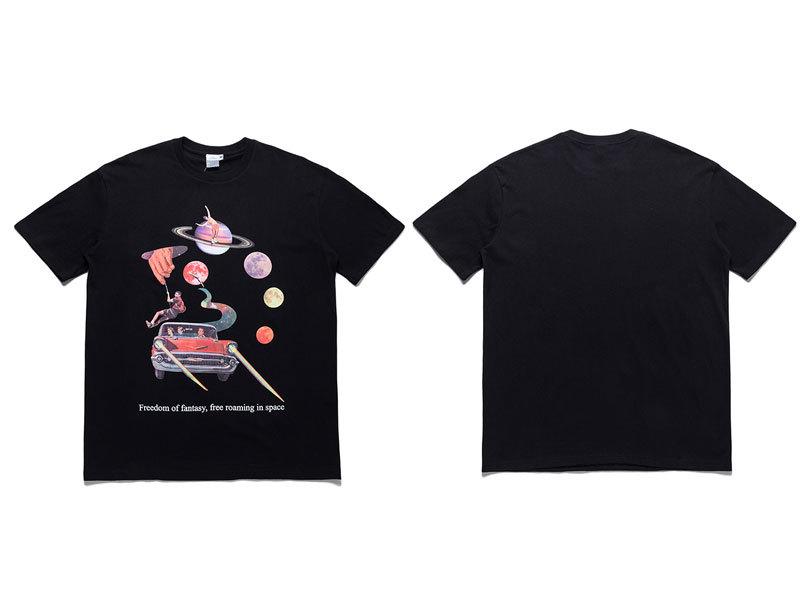 Freedom of Fantasy in Space Tshirts 3