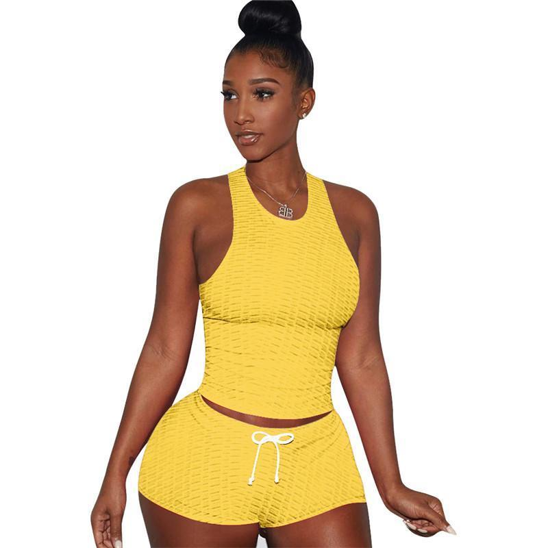 Women Summer Clothes Tracksuits Sportswear Shorts Two Piece Set Jogger Sportsuit For Ladies Casual Fashion T-shirt Shorts XS--3XL kl0730