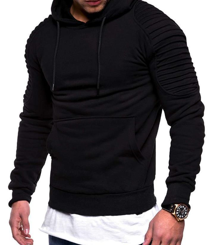 Mens Casual Hoodies Teenager Clothing Fashion Trend Mens Draped Spring Autumn New Sweatshirts Printed Hommes Pullovers