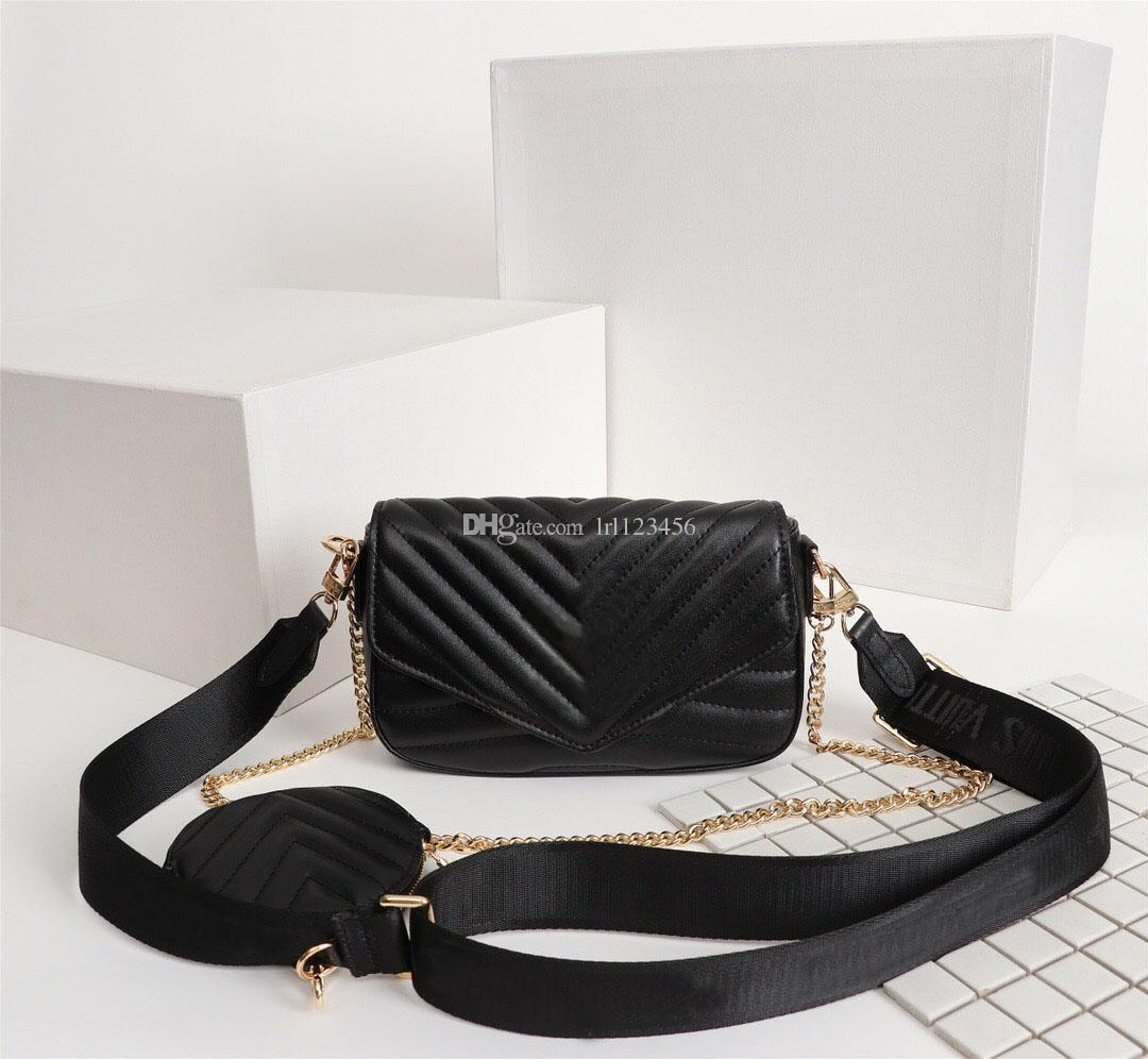 Hot high quality designer luxury handbags purses high quality Multi pochette new wave ladies chain shoulder bags Cross Body evening Bags