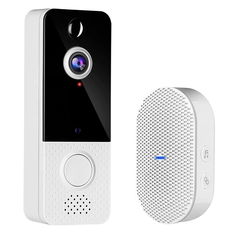 Doorbells Top Deals Video Doorbell Camera,1080P HD Wireless Camera With Chime,Motion Detection,Two-Way Audio,Cloud Storage Us Plu