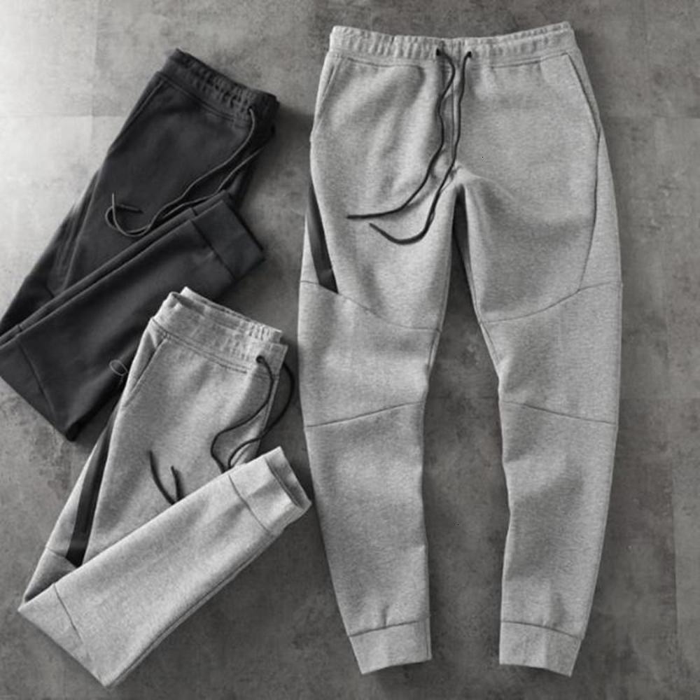 2019 new Mens Designer Tech Fleece Sport Pants Trousers Hip Hip Streetwear Men's Sport Brand Space Cotton Running pants SIZE: M-XXL