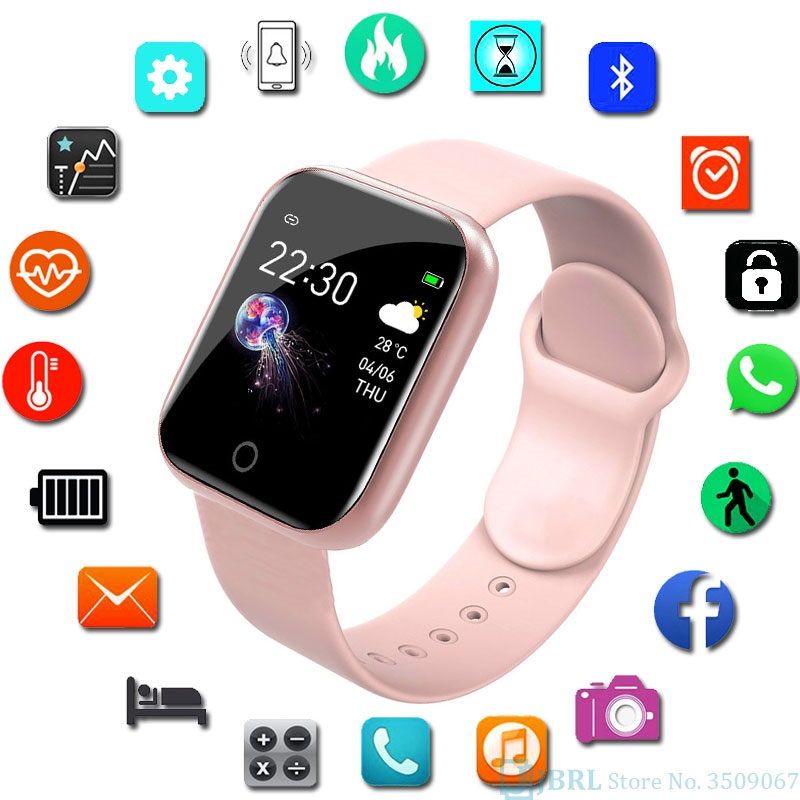 New Smart Watch Women Men Smartwatch For Android IOS Electronics Smart Clock Fitness Tracker Silicone Strap smart watches Hours #7