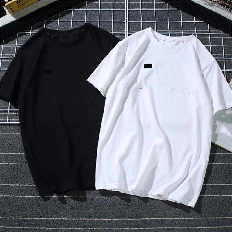 Mens summer t shirt tide famous designer Printing short sleeved embroidered Black White top 15 styles loose male and womens clothes