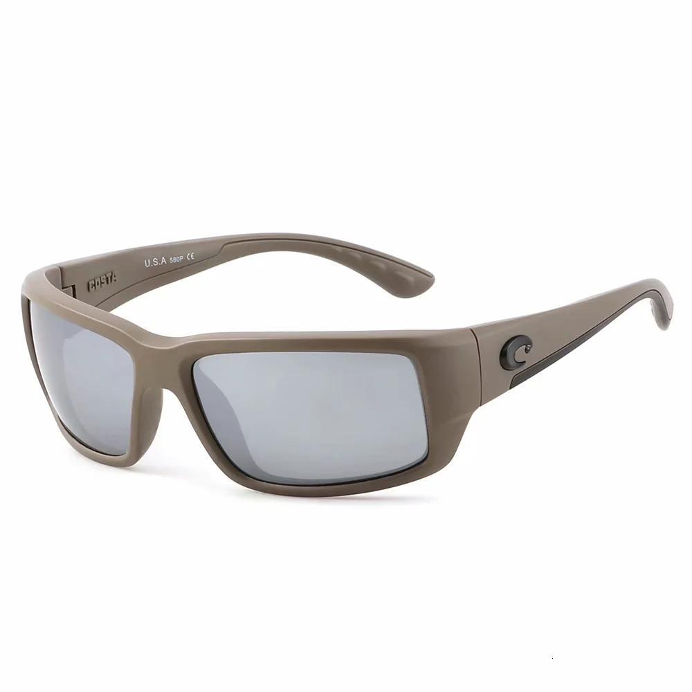 Classic costa sunglasses mens Fantail_580P Polarized UV400 PC Lens high quality Fashion Brand Luxury Designers Sun glasses for women TR90