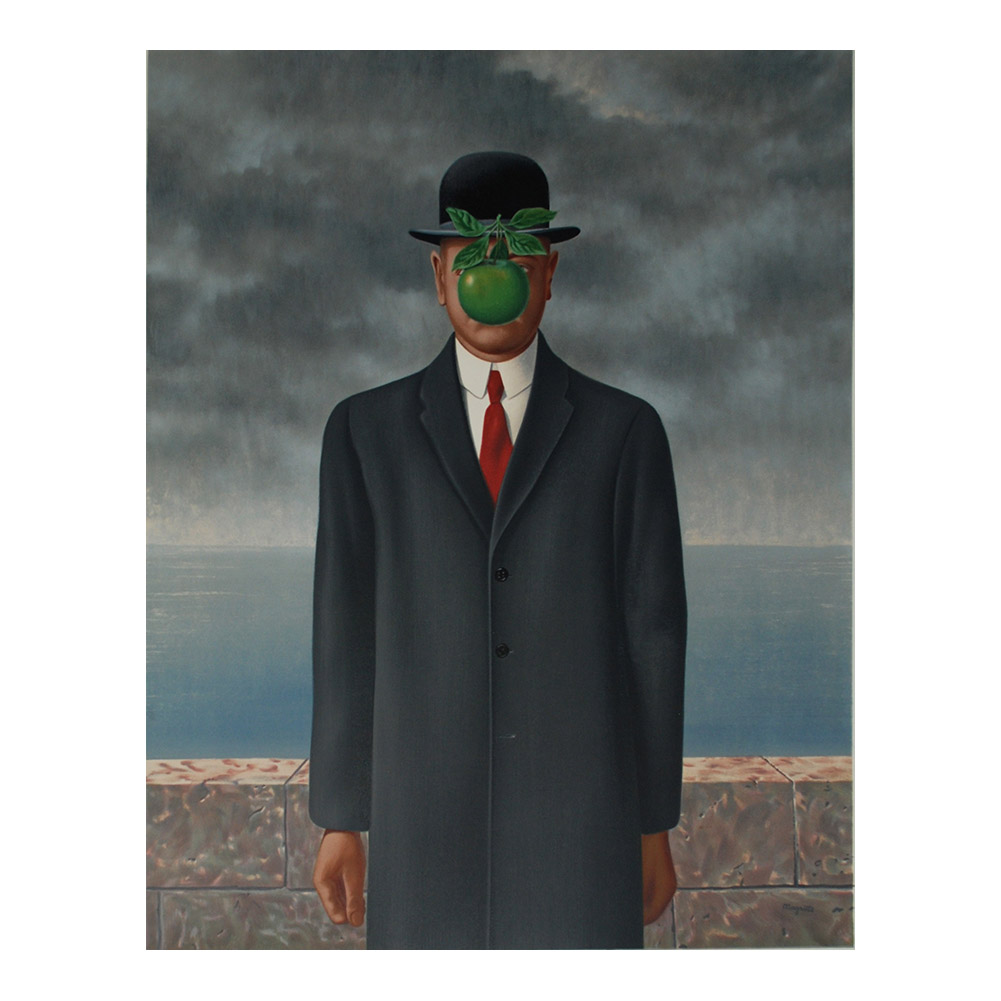 Rene Magritte The Great War Painting Poster Print Home Decor Framed Or Unframed Photopaper Material