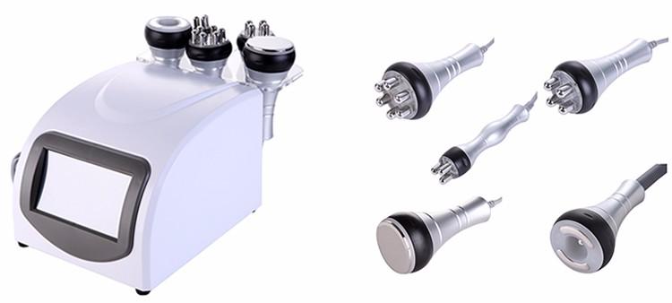 portable 5 in 1 vacuum rf ultrasonic cavitation machine with low price