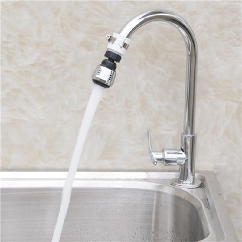 360 Degree Adjustment Kitchen Extension Tube Bathroom Tap Water Filter Foam Faucet Accessories