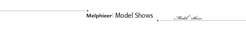 Melphieer model shows