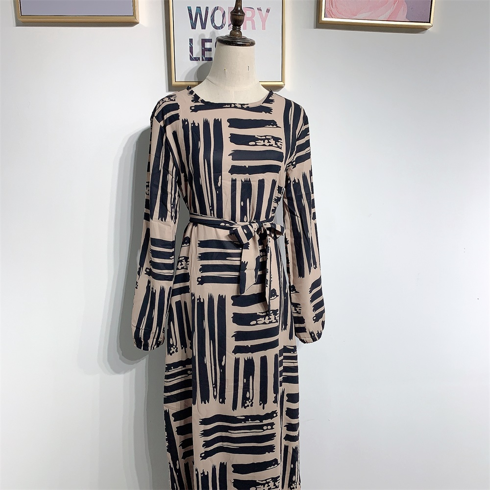 Eid Mubarek Muslim Fashion Dubai Abaya Turkey Hijab Summer Dress Kaftan Caftan Islam Clothing For Women Robe Femme Ete Vestidos (3)