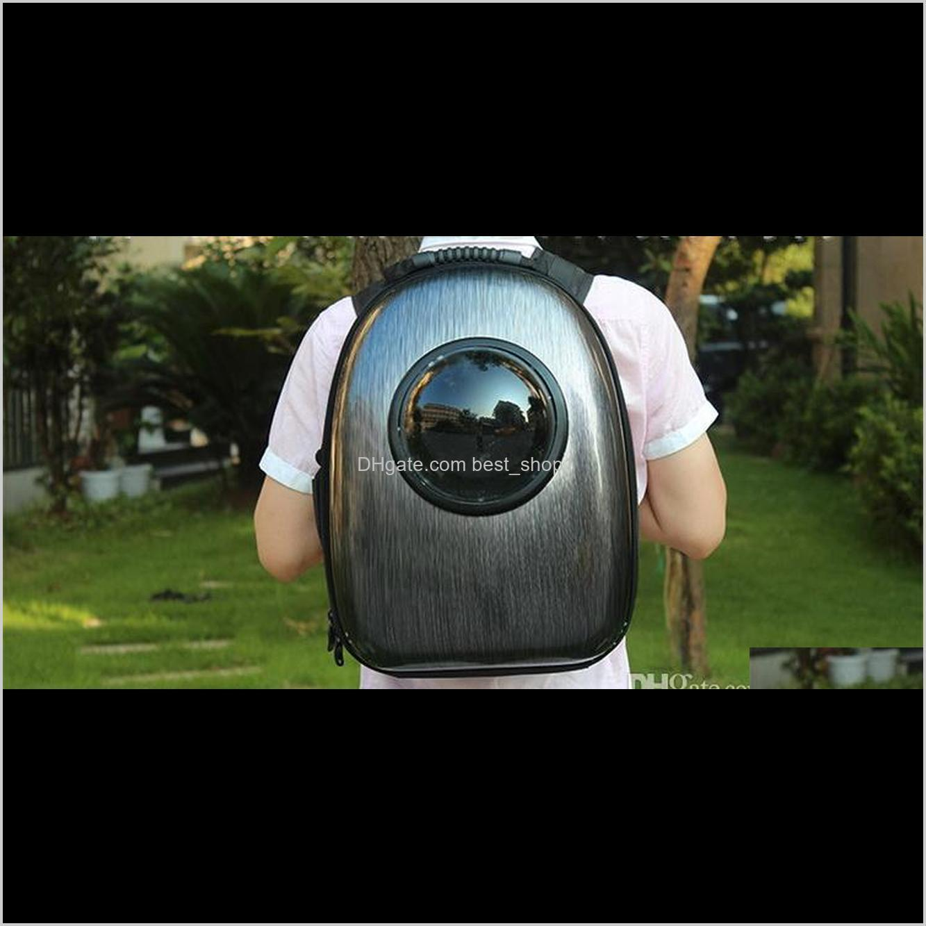 pet carrier backpack space capsule with bubble for cats and small dogs pet space package carriers pet shoulder bag