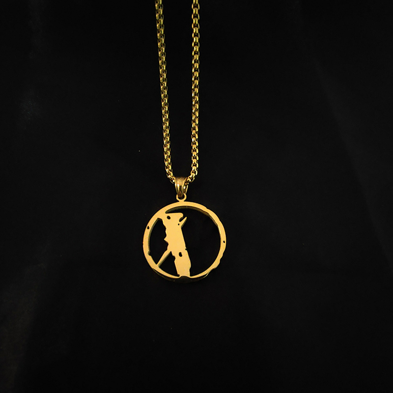 Necklace Mens Womens Pendant Punk Streets Chain Accessories Fashion Rap Singer Hip Hop Jewelry Clothing Accessories